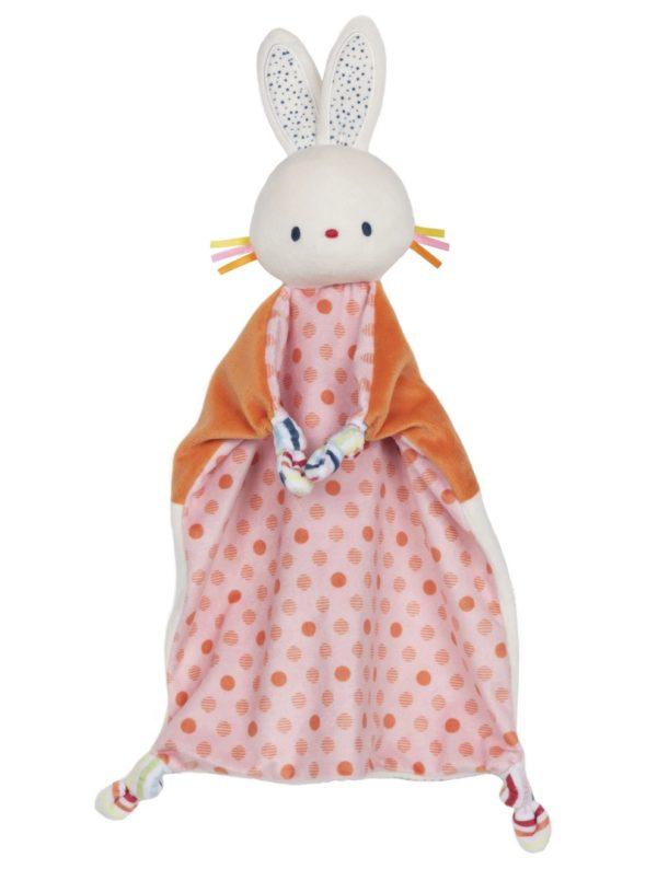 GUND الطفل تينكل كرينكل الأرنب 13 بوصة بلوش بطانية