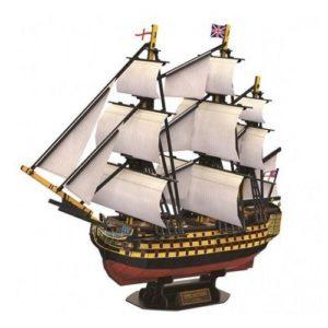 HMS Victory 189 pcs by Cubic Fun