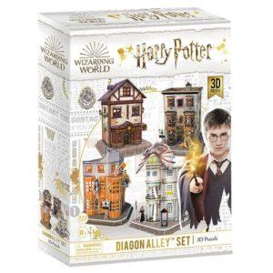 Harry Potter Diagon Alley 3D Puzzle 273 pieces by Cubic Fun