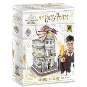 Harry Potter Gringotts Bank 3D Puzzle (74pcs) by Cubic Fun