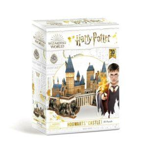 Harry Potter Hogwarts Castle 3D Puzzle 197 Pieces Cubic Fun