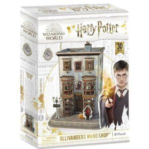 Harry Potter Ollivanders Wand Shop 3D Puzzle 66 Pieces Cubic Fun