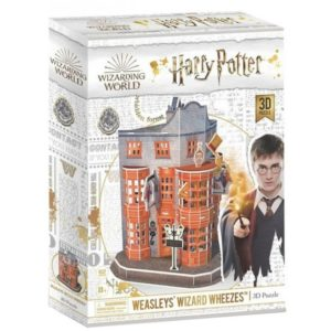 Harry Potter Weasleys' Wizard Wheezes 3D Puzzle 62 Pieces Cubic Fun