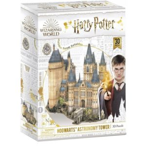 Hogwarts Astronomy Tower 3D Puzzle 243 Piece by Cubic Fun