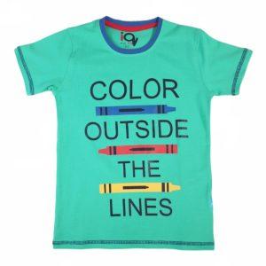 IQ Color Outside Shirt Green
