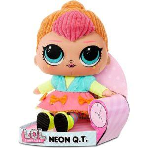 L.O.L. Surprise! Neon Q.T. Huggable Soft Plush Doll