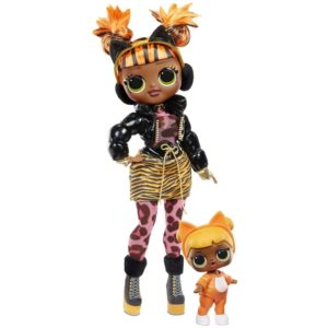 L.O.L. Surprise! O.M.G. Winter Chill Missy Meow Fashion Doll & Baby Cat Doll