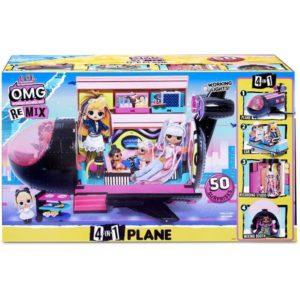 LOL Surprise OMG Remix Plane Playset