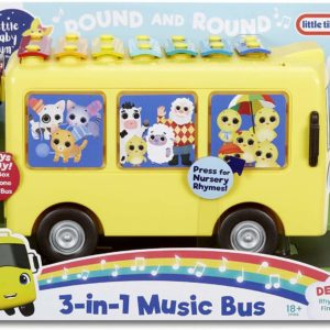 Little Baby Bum 3-in-1 Music Bus with Songs