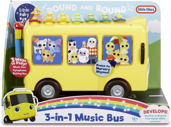 ليتل بيبي بوم 3 في 1 حافلة الموسيقى مع الأغاني