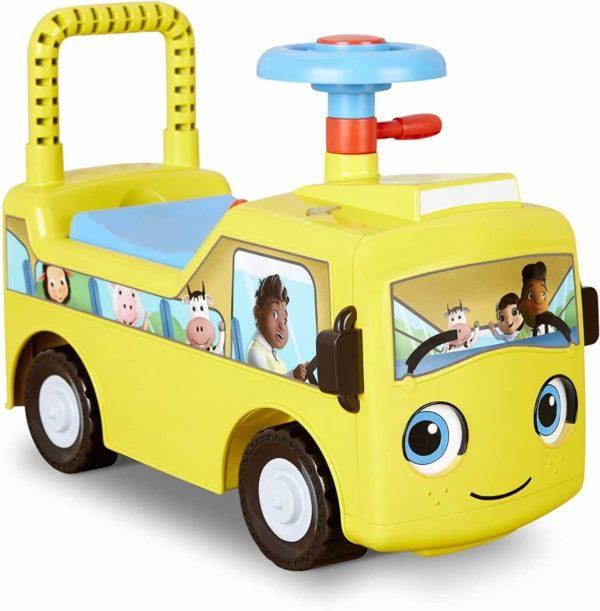 ليتل تيكس ليتل بيبي بوم عجلات على سكوت الحافلة