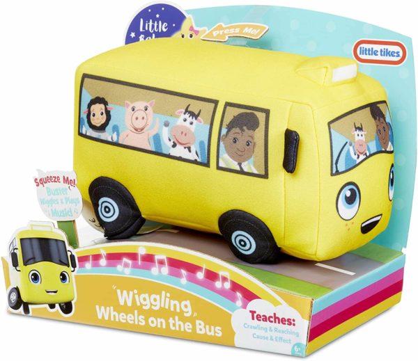 ليتل تيكس ليتل بيبي بوم التذبذب عجلات على متن الحافلة