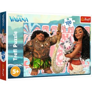 Moana And Friends Puzzle 100 PicesTrefl