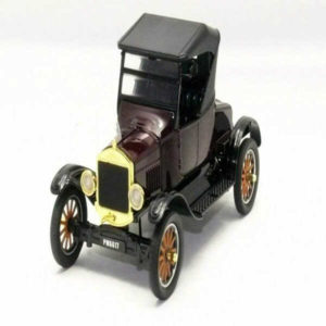 Motor Max Platinum Collection Ford Model T Runabout Black