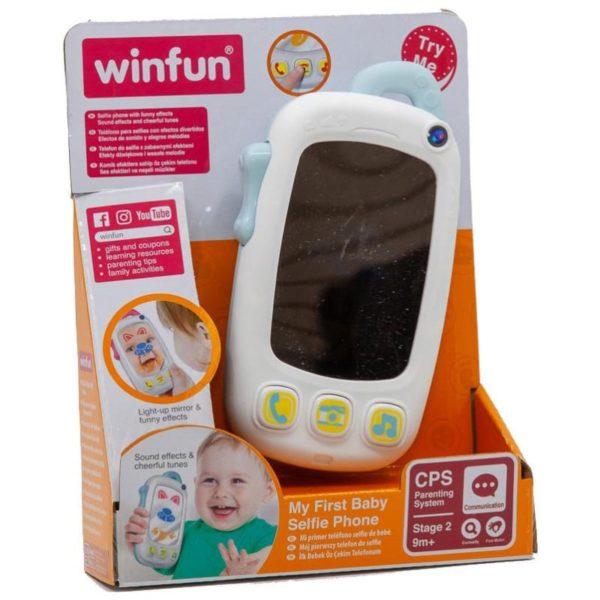 My First Baby Selfie Phone - Blue Winfun