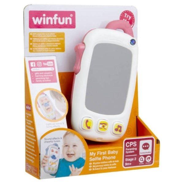 My First Baby Selfie phone - Pink Winfun
