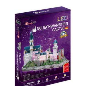 Neuschwanstein Castle Led 3D Puzzle by Cubic Fun