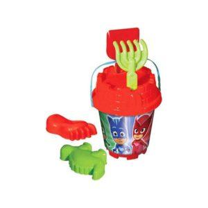 PJ Masks Medium Round Castle Bucket Set Multi color (3 PCS) Dede
