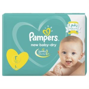 Pampers Baby Diapers - Size 2 -10 Pieces