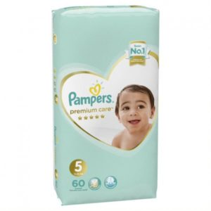 Pampers Premium Care Diapers, Size 5