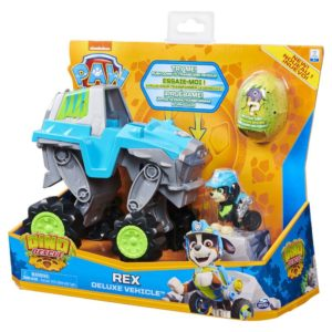 Paw Patrol Dino Rex Deluxe Vehicle - R Exclusive Spin Master