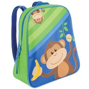 Stephen Joseph Backpack Monkey