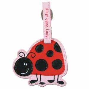 Stephen Joseph Ladybug Luggage Tag