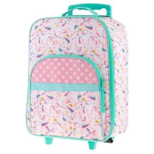 Stephen Joseph Luggage Rolling Rainbow Pink