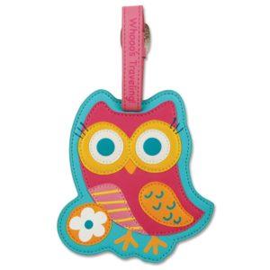 Stephen Joseph Luggage Tag Owl