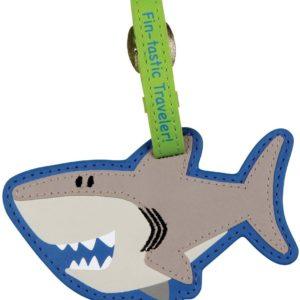 Stephen Joseph Luggage Tag Shark