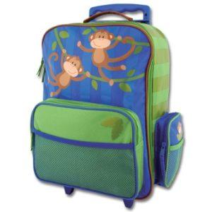 Stephen Joseph Rolling Luggage Monkey