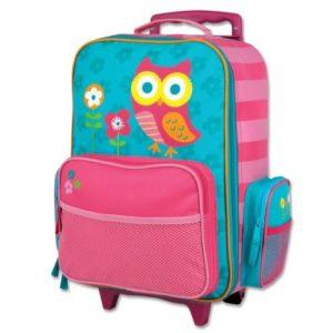 Stephen Joseph Rolling Luggage Owl