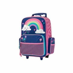 Stephen Joseph Rolling Luggage Rainbow
