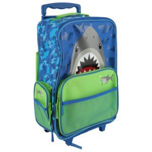 Stephen Joseph Rolling Luggage Shark