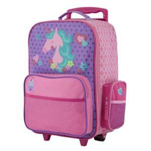 Stephen Joseph Rolling Luggage Unicorn