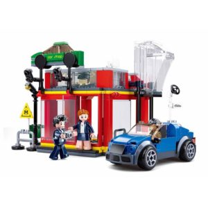 Town-Automobile Sales Service Shop ((302pcs) M38-B0759a Sluban