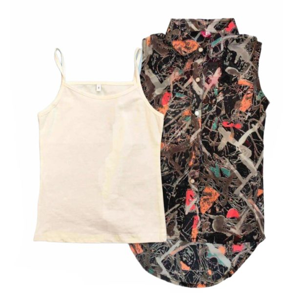 Vickny Girls Blouse 2 Pieces