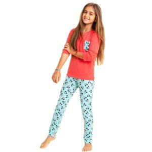 Mickey Pajama Light Red Sotra
