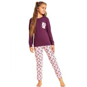 Sotra Mickey Pajama Purple