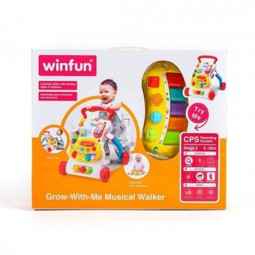 Grow with me Musical Walker Winfun