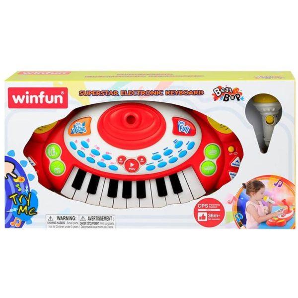 Superstar Electronic Keyboard Winfun