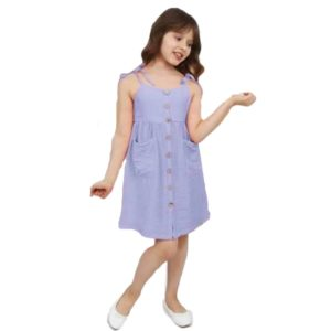 yome Girl's dress light purple