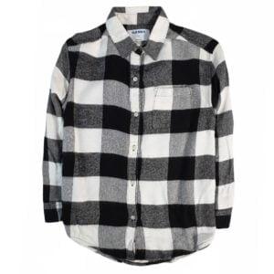 Old Navy Lines Shirt Black & White