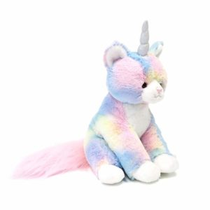 GUND Rainbow Shimmer Caticorn Plush Stuffed Unicorn Cat