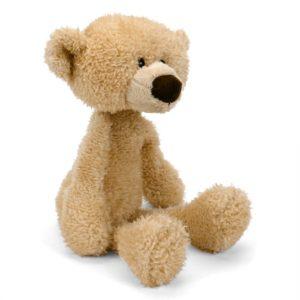 Gund Bear Toothpick Beige Plush Doll