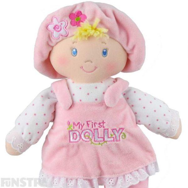 Gund My First Soft Dolly Blonde