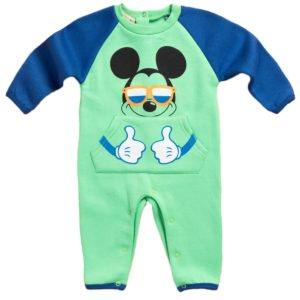 Carrot Mickey Jumpsuit Green