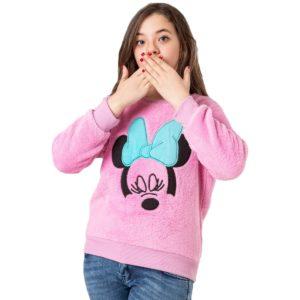 Carrot Minnie Sweatshirt Pink