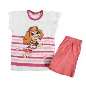 Nickelodeon Skye Pajama White