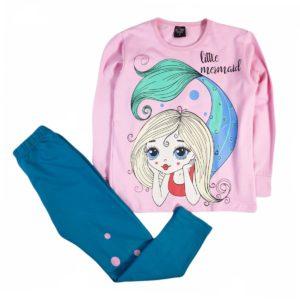 Indigo Mermaid Autumn Pajama Pink
